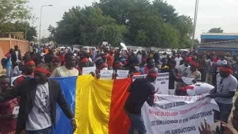 Tchad : important déploiement des forces de l'ordre pour la récupération du corps de Bonheur. © DR/D.D.