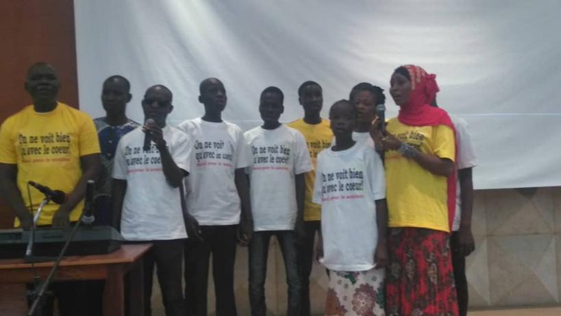 Tchad : Yasmine Abdallah fait un concert de levée de fonds en faveur des aveugles . ©Alwihda Info