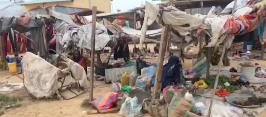 Tchad : à Gaoui, des conditions de vie précaires pour les réfugiés. © DR/VOA/Capture d'écran