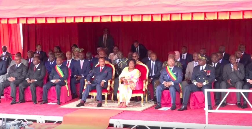 Proclamation de la République du Congo : le 61ème anniversaire placé sous le signe de la paix. © DR/V4C