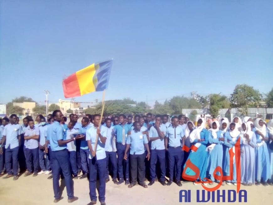 Tchad : célébration de la fête du 1er décembre en grande pompe en province. © Alwihda Info