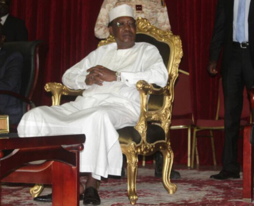"""Idriss Déby : """"Notre nation est encore jeune, vulnérable, fragile"""". © Alwihda Info"""