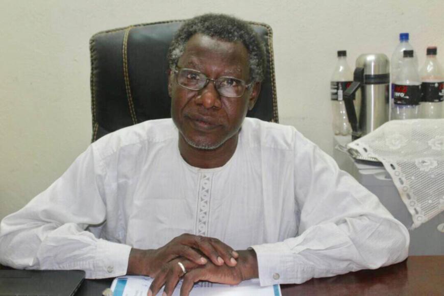 Le défenseur tchadien des droits de l'Homme Mahamat Nour Ahmed Ibedou. © Alwihda Info