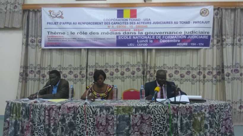 Tchad : débat sur le rôle des médias dans la gouvernance judiciaire. © Alwihda Info