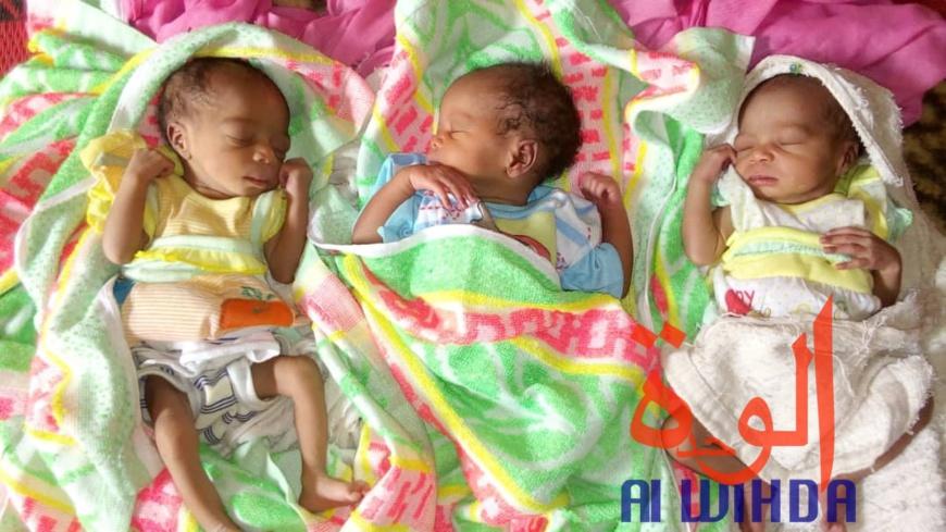 Tchad : une femme est morte juste après la naissance de ses triplées. © Alwihda Info/F.M.