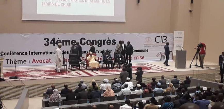 Tchad : ouvrant le congrès de la CIB, Idriss Déby rappelle les idéaux de justice. © Alwihda Info