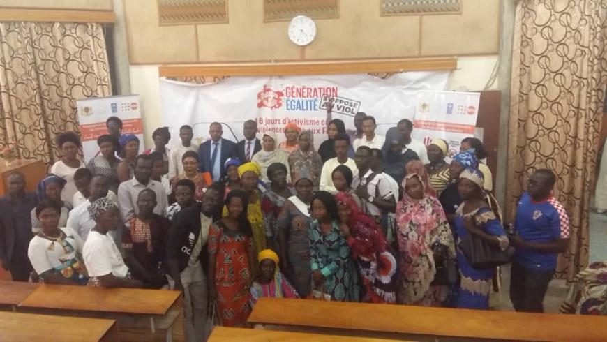 Tchad : un débat sur les violences faites aux femmes en milieu professionnel. © Alwihda Info