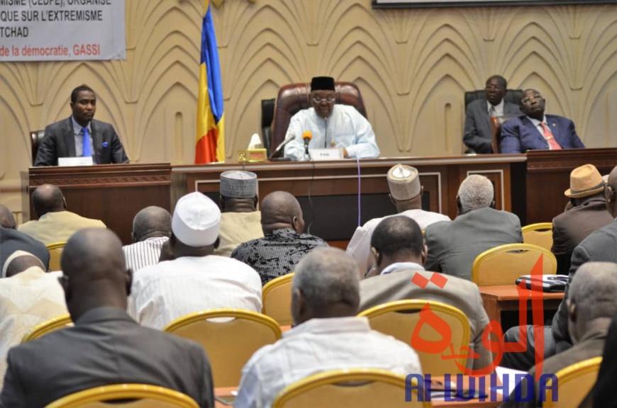 Tchad : l'Assemblée nationale se penche sur l'extrémisme violent et la radicalisation. © Alwihda Info