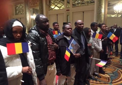 """Tchad : """"Le pays a besoin de vous"""", l'appel de Déby à la diaspora en Italie. © PR"""