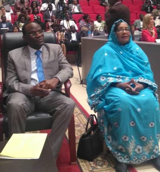 """""""Le Tchad, contrairement aux clichés, est un pays stable et toujours en progrès"""", ministre Justice. © Alwihda Info/M.M.T."""