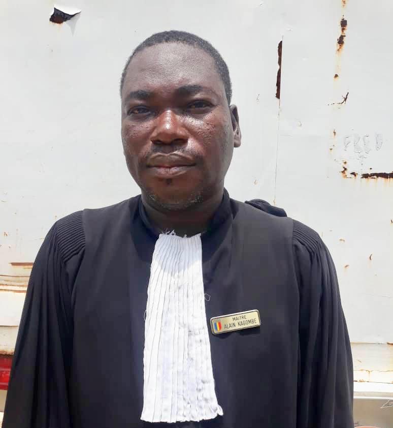 Maître Alain Kagonbé, avocat de Kalzeube Payimi Deubet. © Alwihda Info