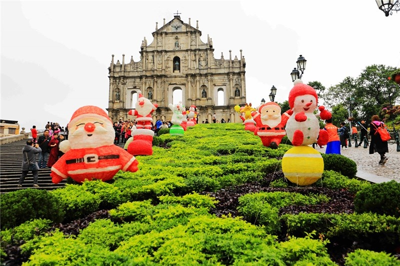 Macao Scenery (Photo by Liu Baocheng from People's Daily Online)