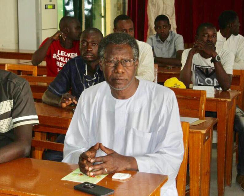 Tchad : Mahamat Nour Ibedou reconduit en prison après une journée d'audition. ©Alwihda Info