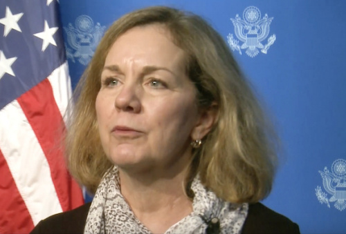 La Sous-secrétaire adjointe pour les affaires Ouest-africaines et sécuritaires du département d'Etat américain, Whitney BAIRD. ©DR