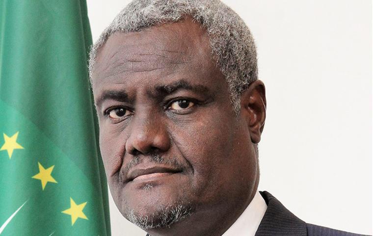 Le Président de la Commission de l'Union africaine, Moussa Faki Mahamat. © UA
