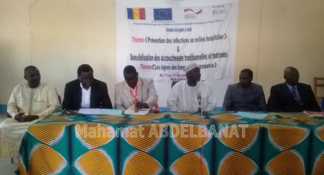 Tchad : enseignants et agents de santé formés par le projet PRCPT à Am-Timan