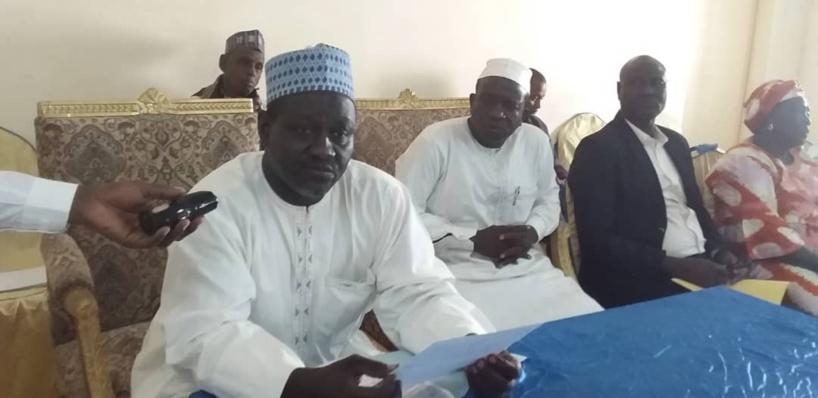 Tchad : installation du nouveau président de l'Université d'Ati. © Alwihda Info