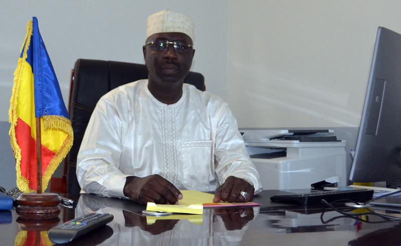 Le directeur général de l'ANSICE, Mahamat Aware Neissa. © DR/ANSICE