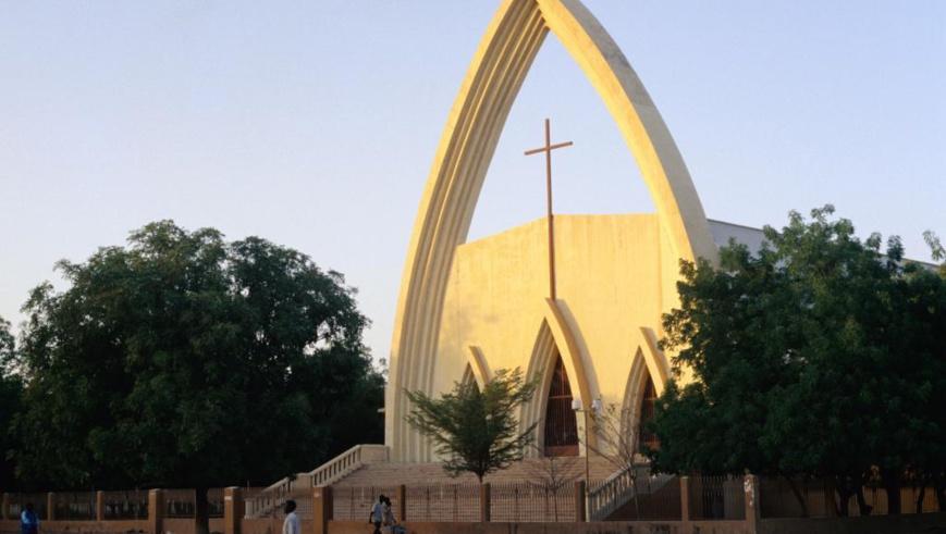L'ancienne cathédrale Notre-Dame de la Paix de Ndjamena. © Anthony Ham/Gettyimages