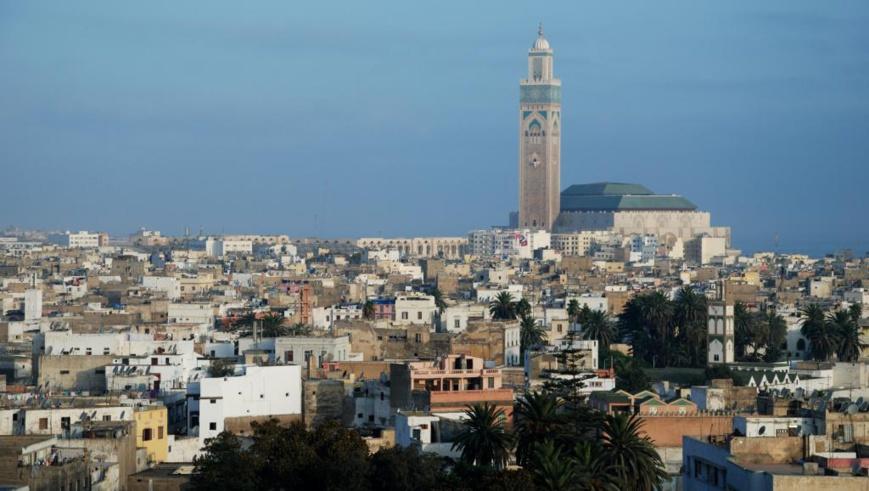 Vue de Casablanca. Getty Images/appassionato fotografo viaggiatore