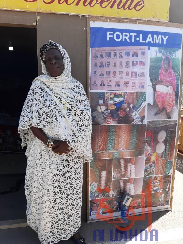 Mama Asma Gassi, présidente de l'association Fort-Lamy. © Alwihda Info/Adam Issa Adam