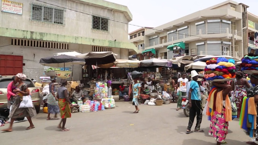 La ville de Lomé. © DR/hors frontieres/Youtube
