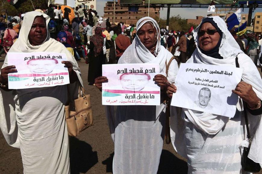 Soudan : condamnation à mort pour 27 ex-agents de renseignement après la mort de l'enseignant Ahmed Al-Khair Awad Al-Karim. © DR