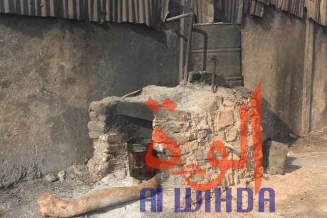Tchad : les machines à extraction d'huile, un véritable problème d'hygiène. © Alwihda Info/Golmen Ali