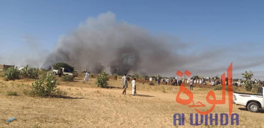 Soudan : un responsable de la ville d'Aldjinena blessé par balles. © Alwihda Info
