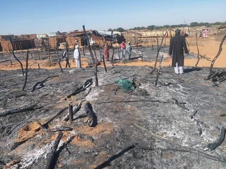 Soudan : des civils fuient vers le Tchad suite aux affrontements près de la frontière. ©DR