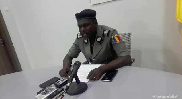 Le porte-parole de la Police nationale, commissaire Paul Manga. © Alwihda Info/D.W.