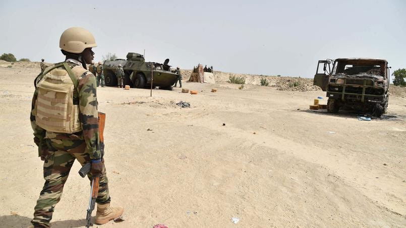 Un soldat africain au Sahel. Illustration. © DR