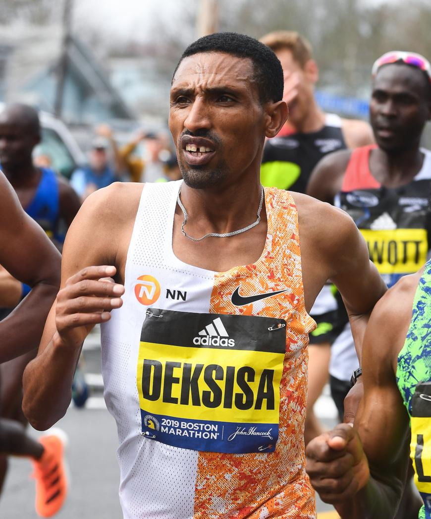 Ethiopian duo Worknesh Degefa and Soloman Deksisa will be among the favourites at the Standard Chartered Dubai Marathon on January 24