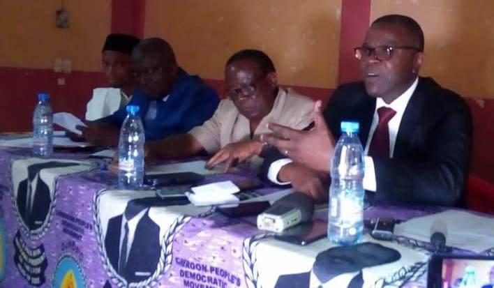 Jacquis Kemleu Tchabgou (à droite) : « Travailler pour le bien-être des populations ».