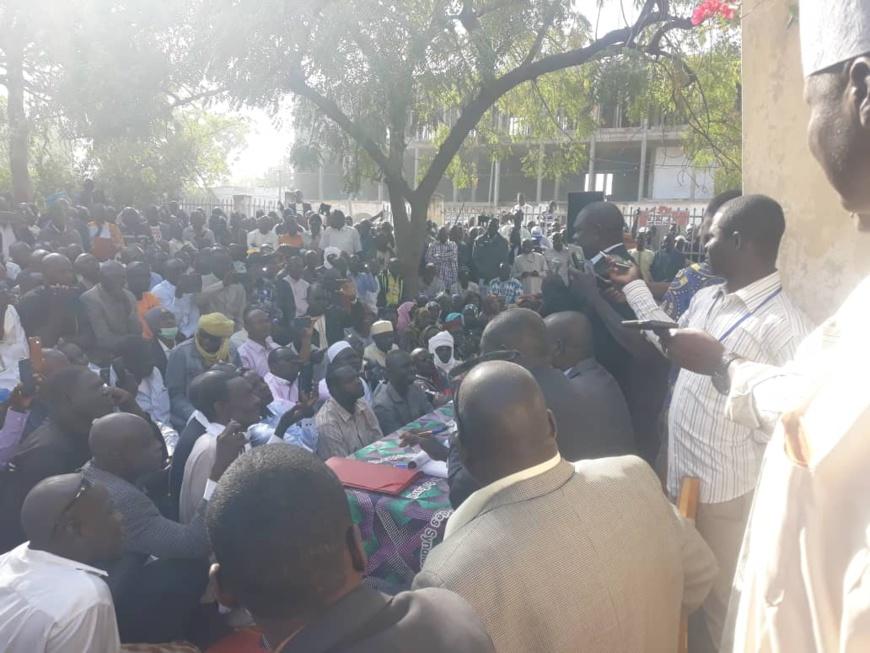 Tchad : vers la levée de la grève des travailleurs ce jeudi. © Alwihda Info/Djimet Wiche