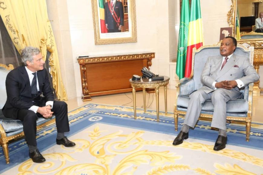 Denis Sassou N'Guesso et Philippe Oddo.