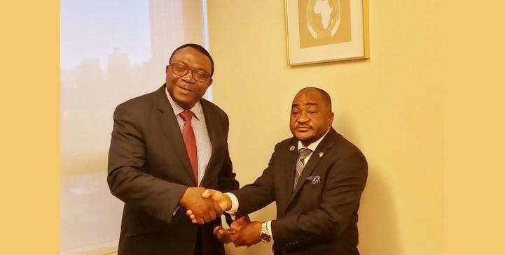 Le Togo succède au Libéria à la présidence du Groupe des Etats africains membres de l'ONU. © MPTUN