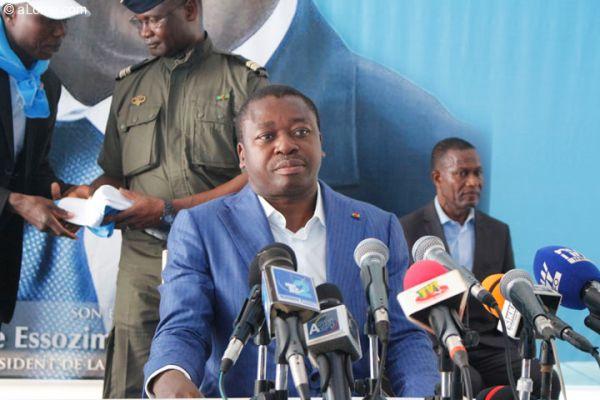 Togo : le Président s'est entretenu avec les cotonculteurs de la région des Plateaux. © DR
