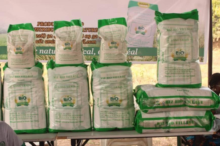 Togo : en marge du forum des paysans, une mini-foire pour les entrepreneurs agricoles. © DR