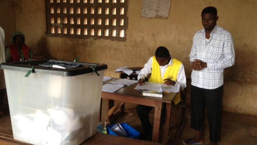 Opérations de vote dans un lycée de Lomé, Togo, le 25 juillet 2013. (Image d'archive) © RFI/O.Rogez