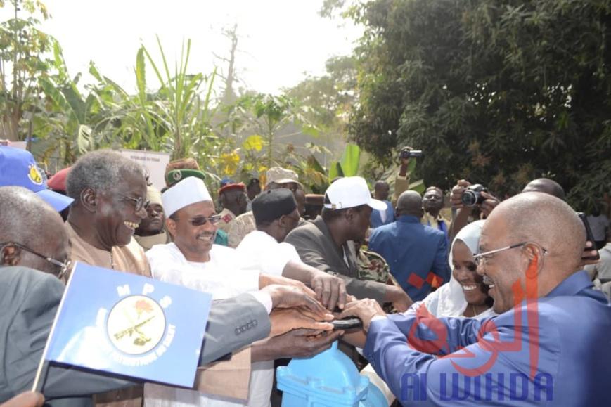 Tchad : la STE inaugure de nouveaux ouvrages de production d'eau potable à Sarh. © Alwihda Info
