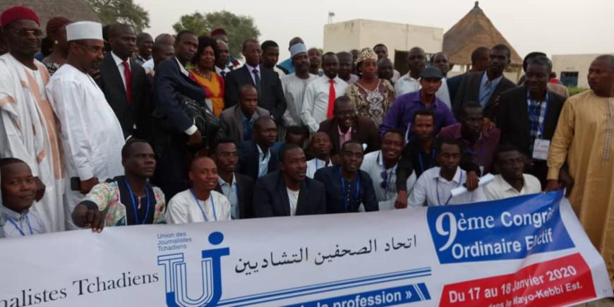 Tchad : le journaliste Djimet Wiche élu secrétaire général adjoint de l'UJT. © Alwihda Info