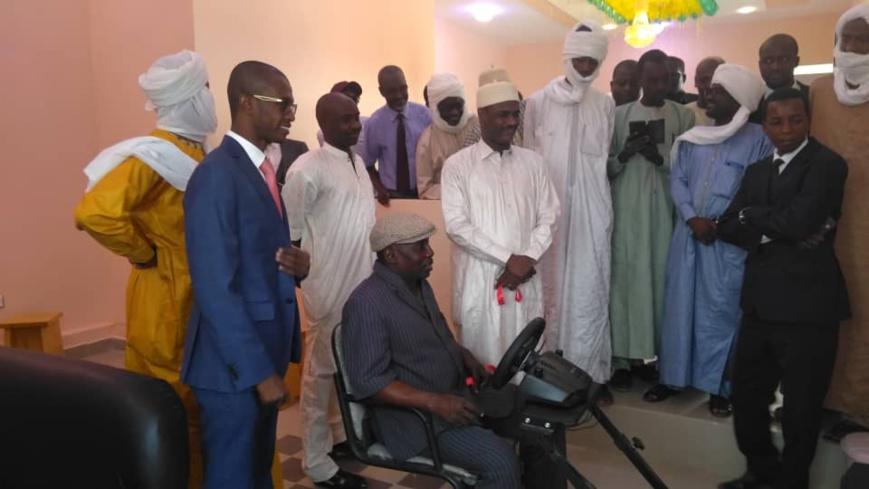 Tchad : Maracana Arena, la nouvelle salle de jeux à N'Djamena. © Malick Mahamat Tidjani/Alwihda Info