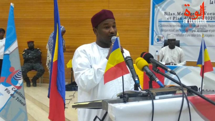 Tchad : Faycal Hissein Hassan détaille les objectifs de sa coalition pour 2020. © Malick Mahamat/Alwihda Info