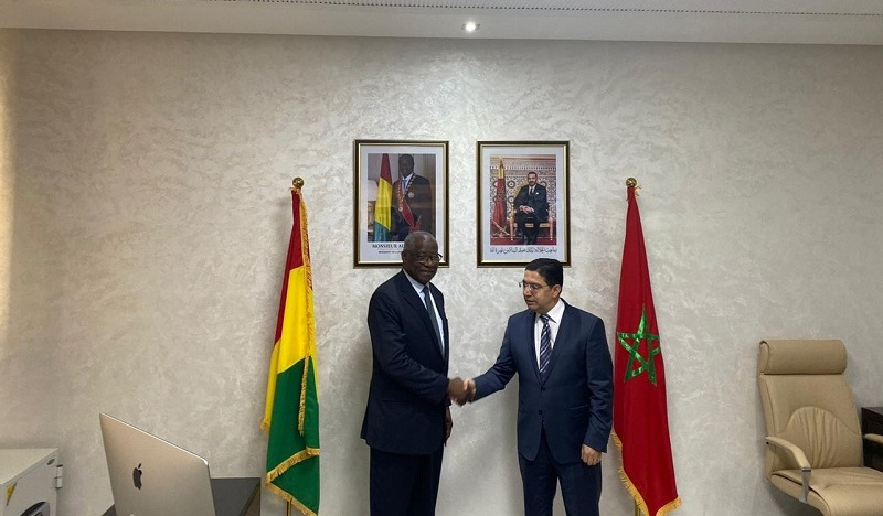Maroc : la République de Guinée ouvre un consulat général à Dakhla. © DR