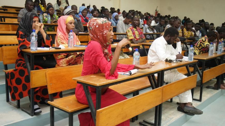 """Tchad : """"génération sans limites"""", une initiative en faveur des jeunes lancée. © Abakar Chérif Hamid/Alwihda Info"""