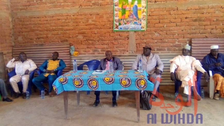Tchad : au Mayo-Dallah, le préfet sensibilise sur la cohabitation et la sécurité. © Foka Mapagne/Alwihda Info