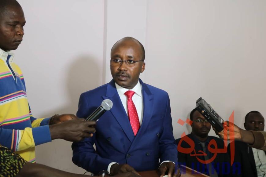 Le chef d'antenne de l'Autorité de Régulation du Secteur pétrolier Aval du Tchad (ARSAT), Abakar Moustapha Ali. © Golmen Ali/Alwihda Info