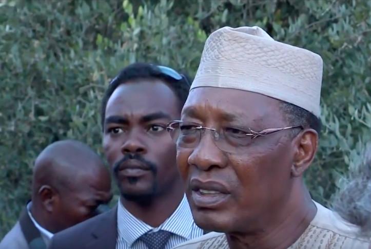 Le président Idriss Déby. Illustration. © DR