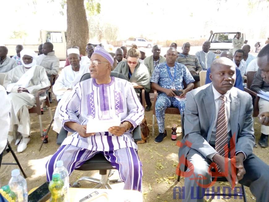 Le secrétaire général de la province de Sila, Oumarou Sandah Makachi. © Mahamat Issa Gadaya/Alwihda Info